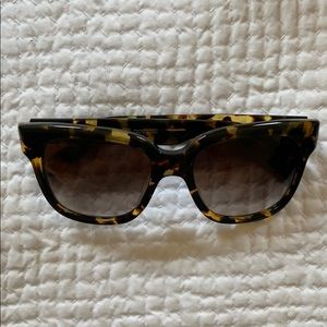 Oliver People's Tortoise Sunglasses
